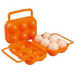 ODP 0039 Plastic Eggs Container orange
