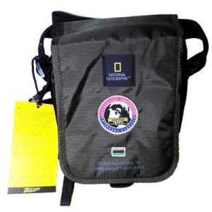 National Geographic Explorer Utility Bag with Flap khaki