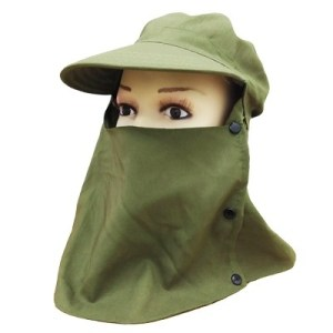 ODP 0314 Sun Protection Cap green