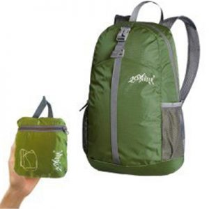 Aonijie 20L Foldable Backpack army green