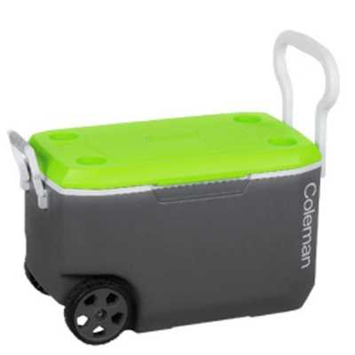 Coleman Cooler 62QT Wheeled Xtreme grey green