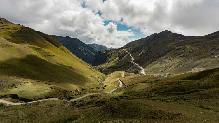 Cycling from Cajamarca to Caraz