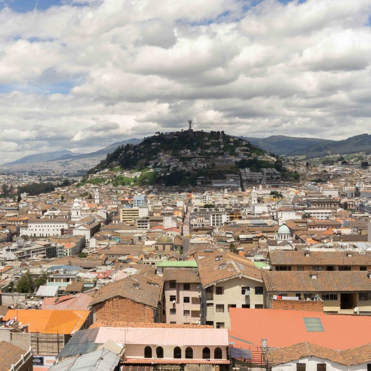 View on Quito