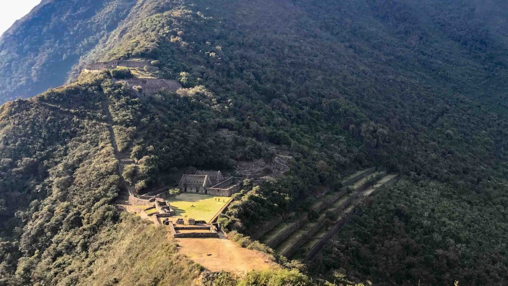 The adventurous Choquequirao trek without a guide
