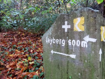 Wegweiser zum Leyberg