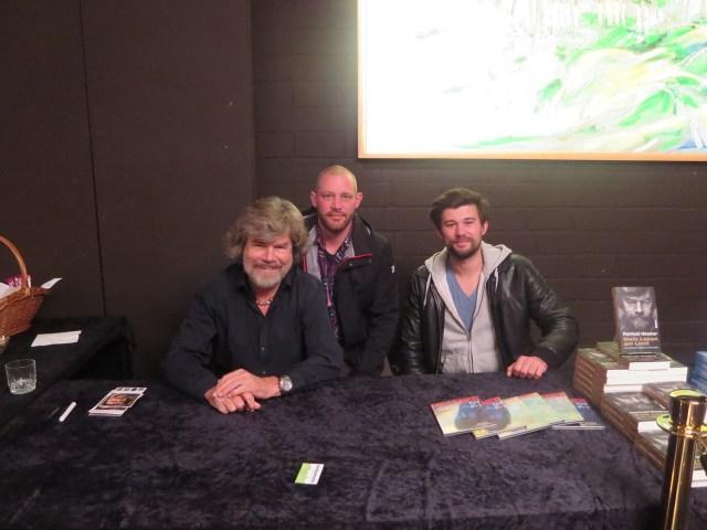 Outdoorseite trifft Reinhold Messner