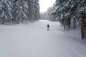 Skiabfahrt Tiroler Zugspitz Arena