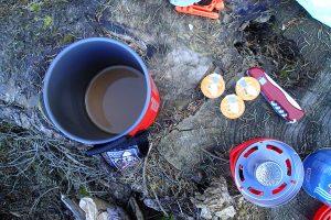 Kaffee kochen mit dem Jetboil Flash