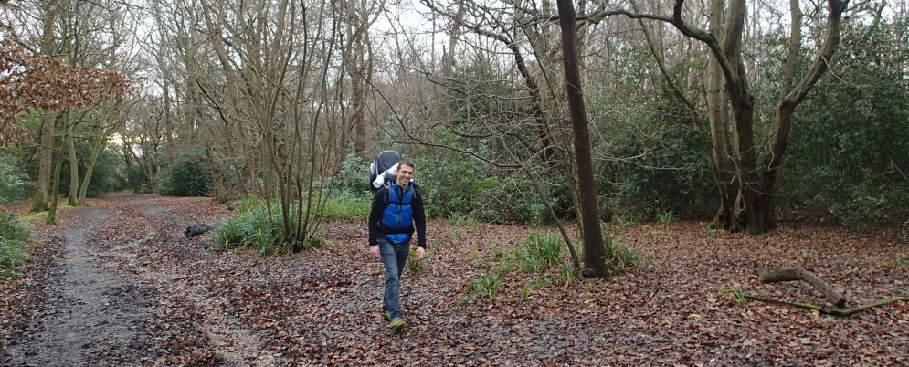 Family hike in Epping Forest – Testing the new hiking system