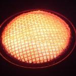MSR Reactor burner in full heat
