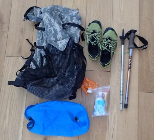 The gear that didn't survive the Cape Wrath Trail