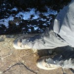 Asolo Fugitive GTX Wide for deep winter hiking