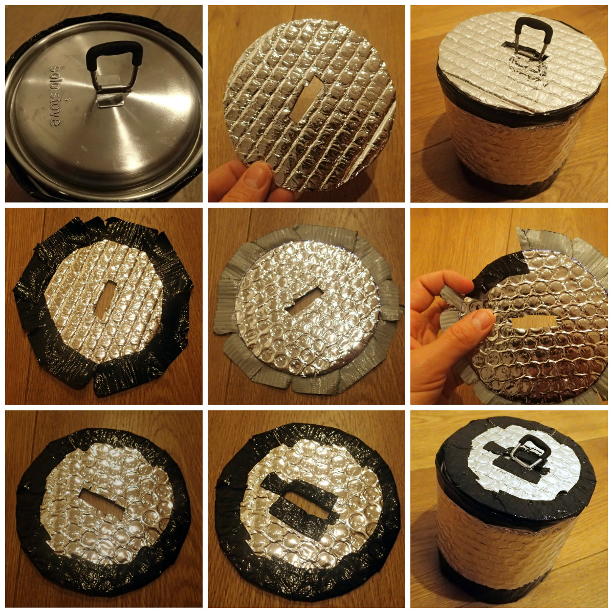 Make a simple and light lid