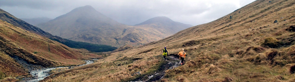 Two ultra runners attempting to run the Cape Wrath Trail