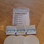 The repair kit that comes with the Neoair