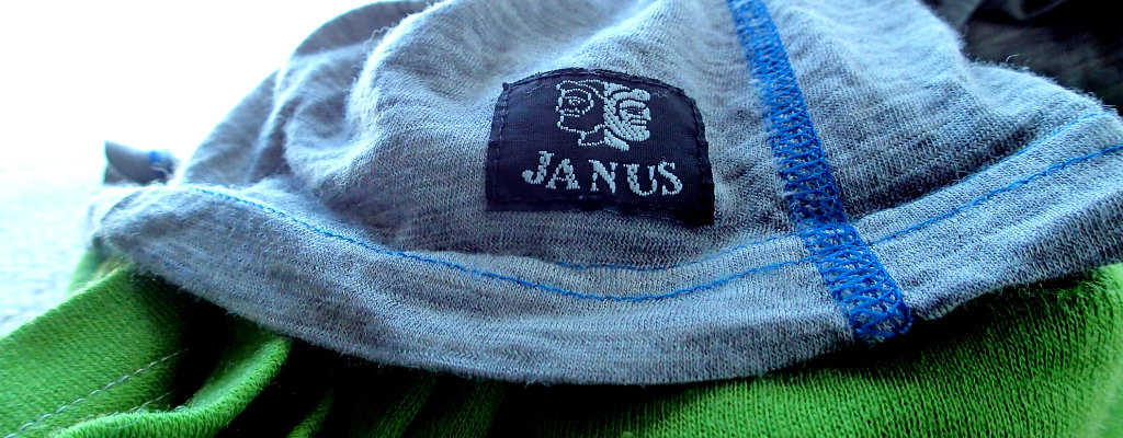Janus logo on my Merino tops