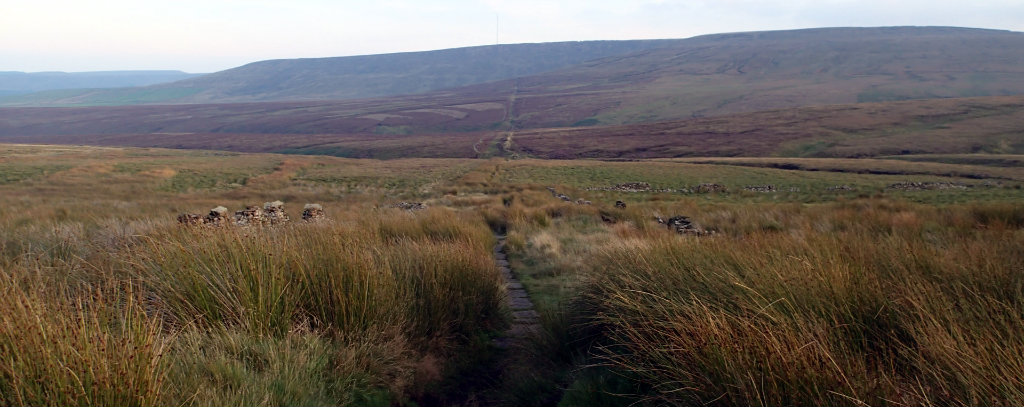 The straight line to the A635