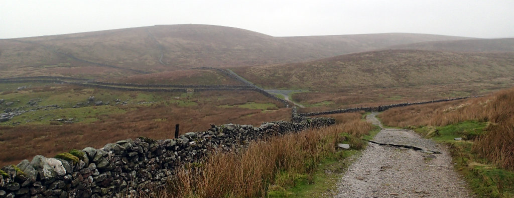 The Pennine Way meeting the Pennine Journey