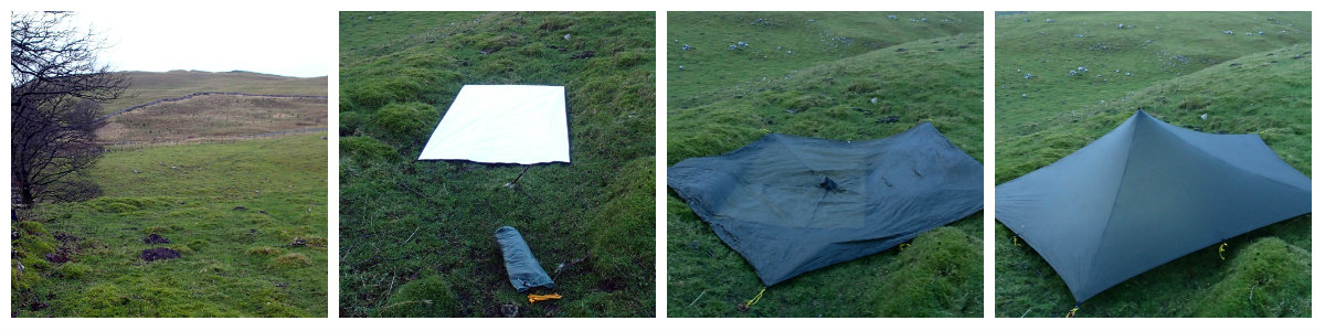 Setting up my Trailstar after a king time in storage
