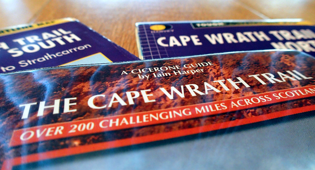 My 2015 Cape Wrath mapping kit - I was missing some overview and some detail