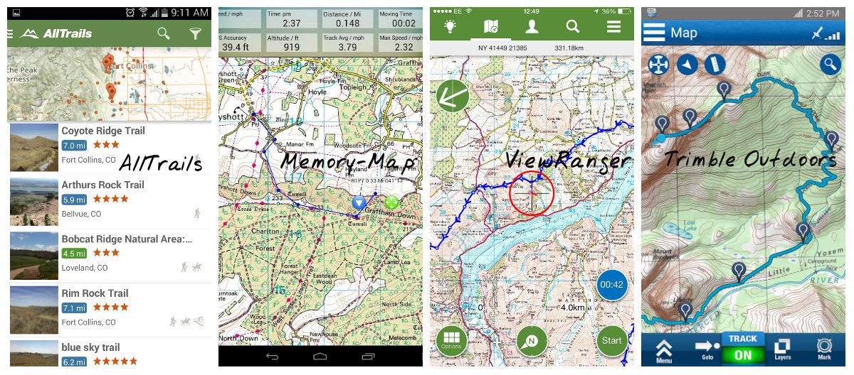 A host of navigation apps