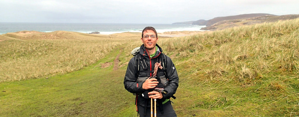 In the Cape Wrath Trail used as a waterproof shell or a wind shell: that breathable