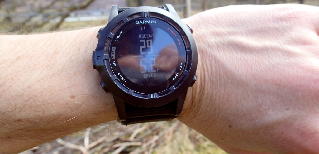 Garmin Fenix 2 froze in the first two hours of the trip