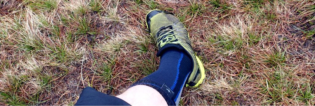 Using Sealskinz knee high socks