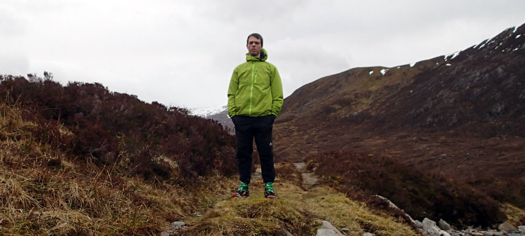 The Squamish hoody has an athletic fit