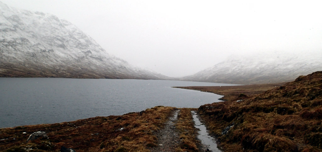 Unexpected weather change on the route from Fort William to Attadale
