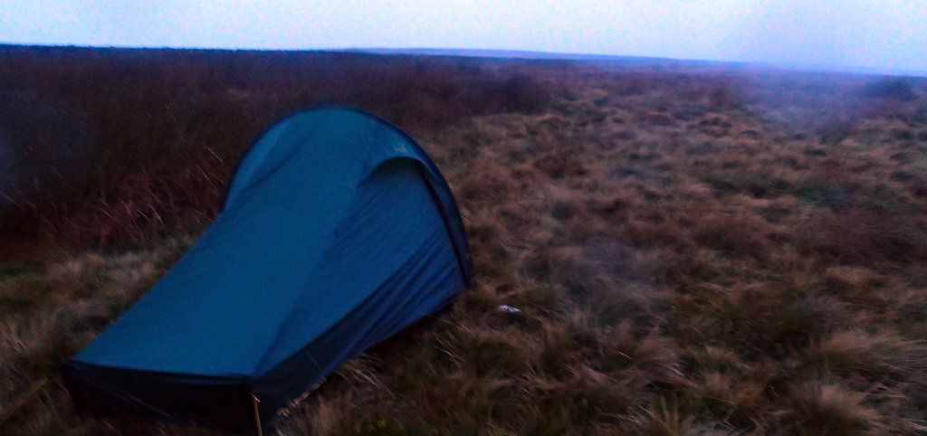 Learn to set your tent up in any conditions, even when a storm is blowing (Abigail, 2015)
