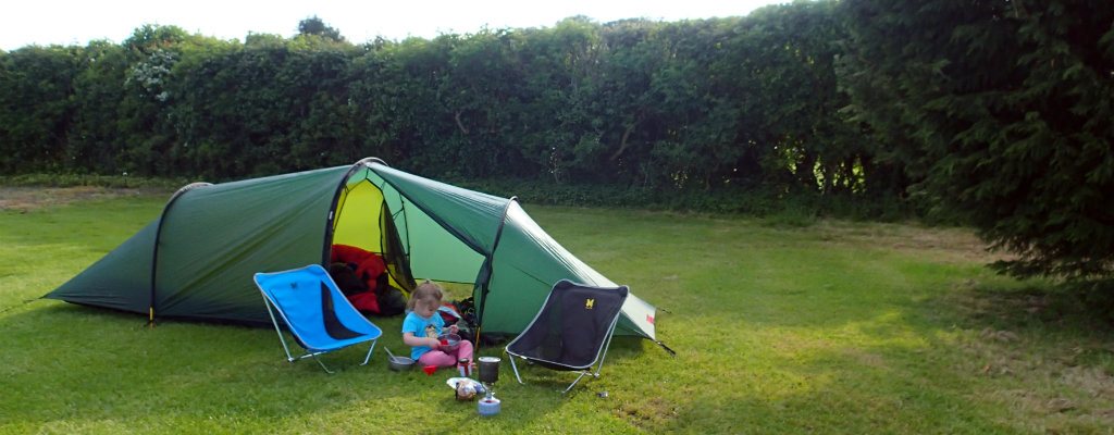 First solo camping with a toddler – a father on a mission