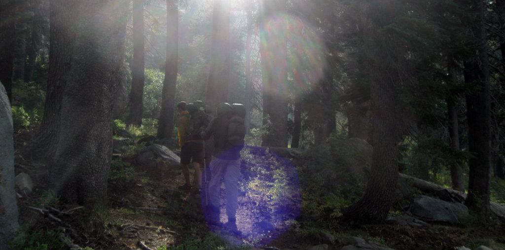 Outdoors Fatherism - Desolation Wilderness, California, USA