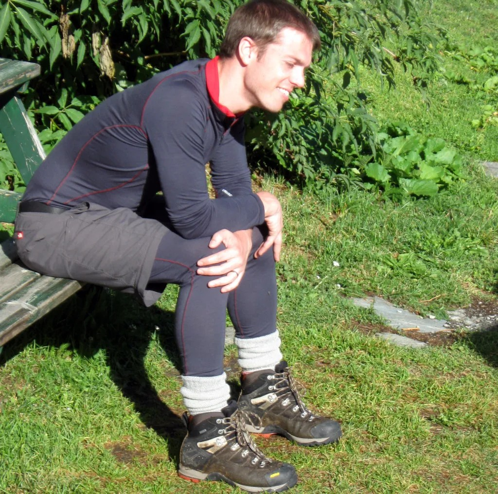 Sponsoring the tights with shorts look - base layers for the shy