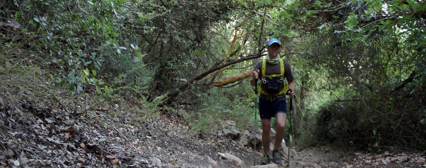 Strong and healthy knees makes all the difference when pushing on the trail