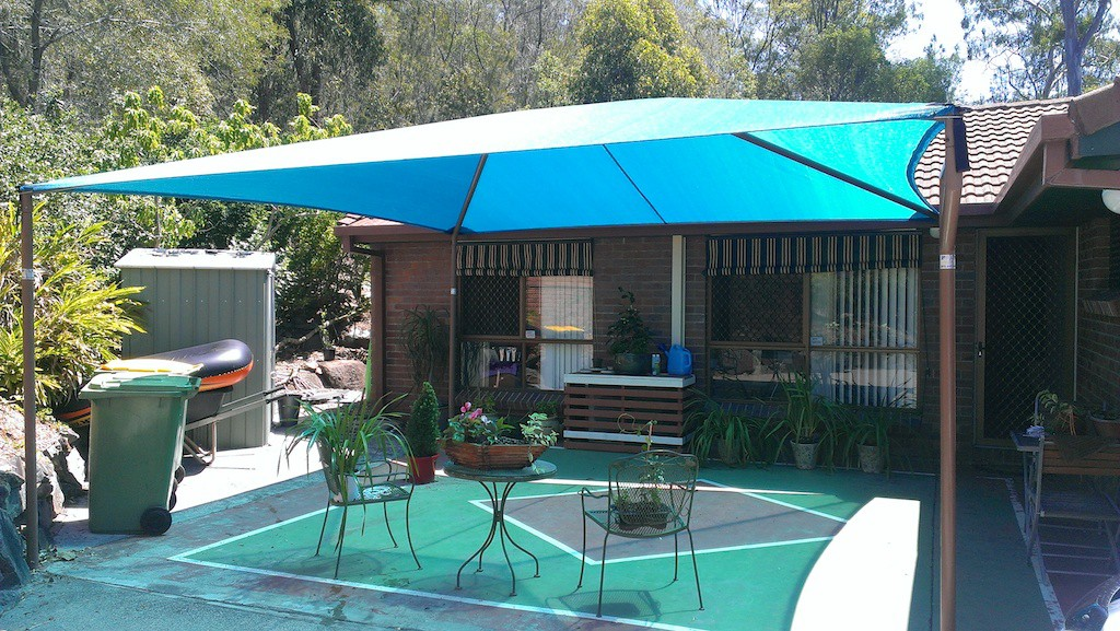 diy shade sails gold coast outdoor shade sails Round Shade Sail id=23152