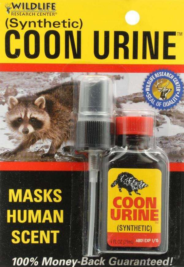 Wildlife Research Center Coon Urine (Synthetic) 1 Ounce ...