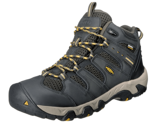 KEEN Mens Koven Leather Hiking Boot