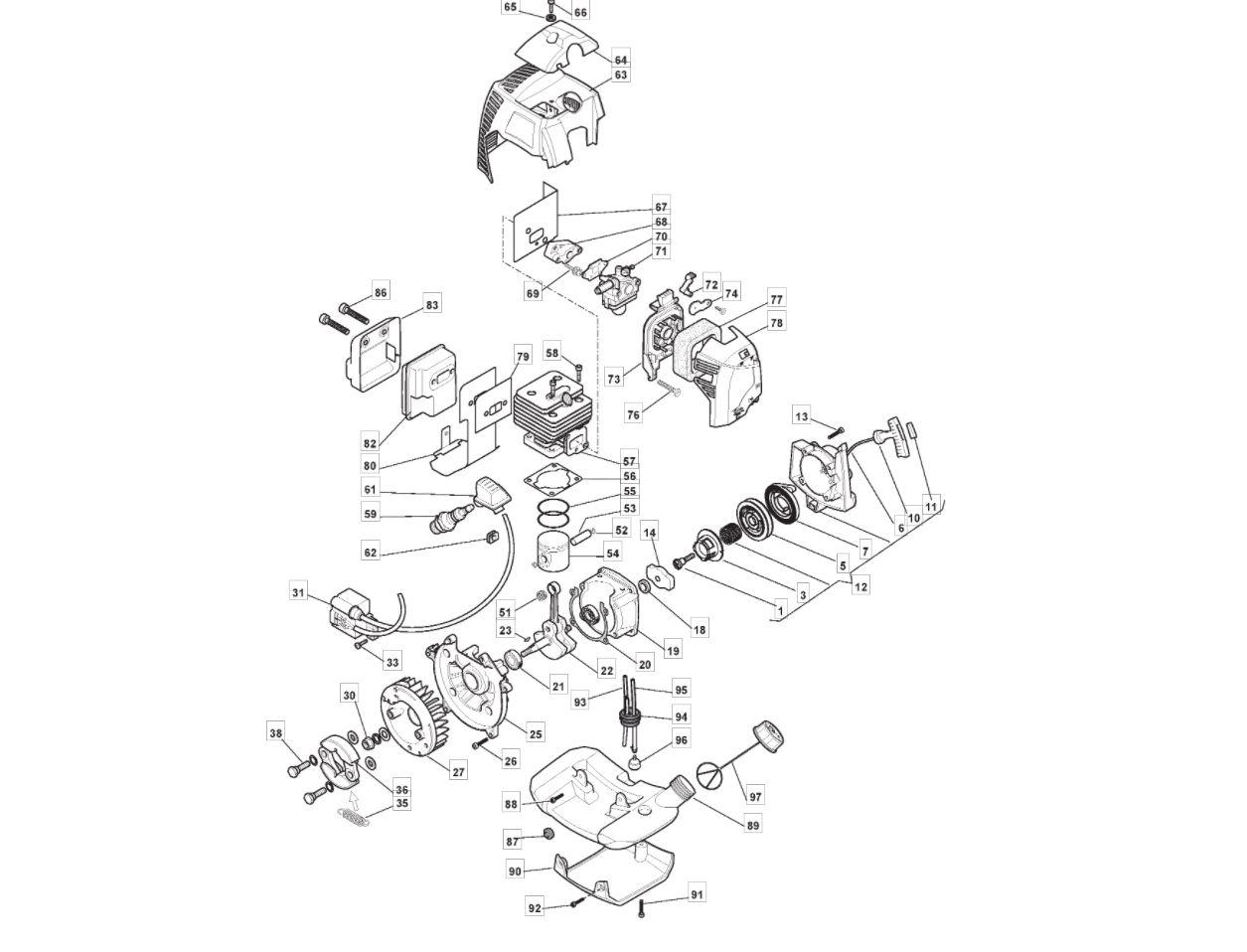 Mgtp254 Engine Parts