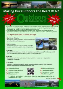 NZ Outdoors Party brochure.
