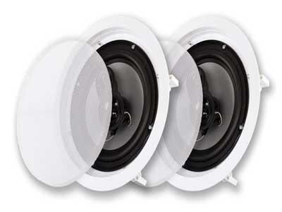 Acoustic Audio CS-ic83 in Ceiling Home Theater Speakers