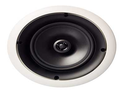 """AmazonBasics 6.5"""" Round In-Ceiling In-Wall Mounted Speakers"""