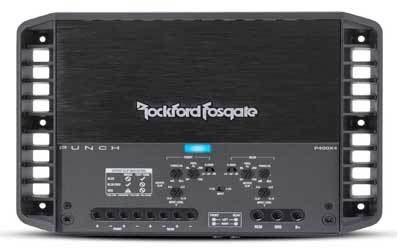 Rockford Fosgate P400X4 Punch 400-Watt Channel Amplifier