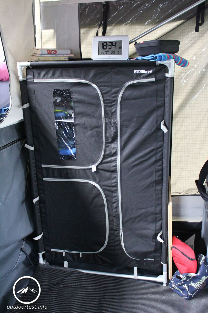 Das Kleiderschrank Projekt Camping Schrank Verschluss