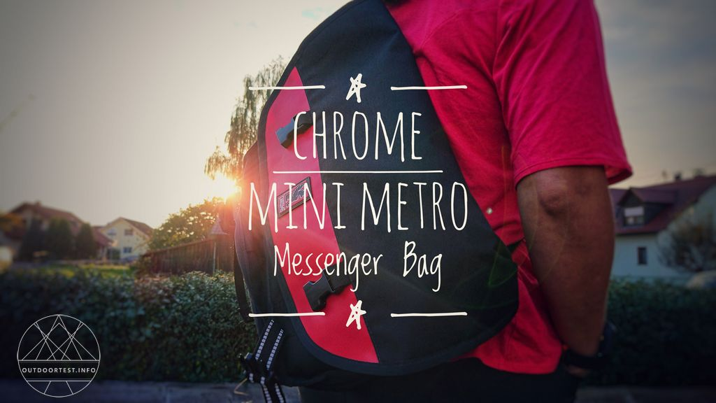 Outdoor Küche Metro : Chrome mini metro messenger bag outdoortest tested in nature