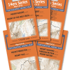 Covers of maps in the Sawatch Range 14ers Map Pack