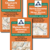 Map covers of the Aspen Hiking Map Pack