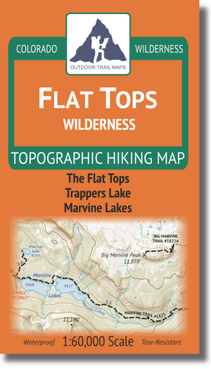 Cover of Flat Tops Wilderness Map