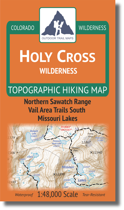 Cover of Holy Cross Wilderness Hiking Map