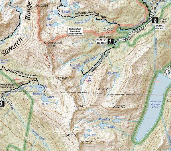 Holy Cross Wilderness Map Crop 3